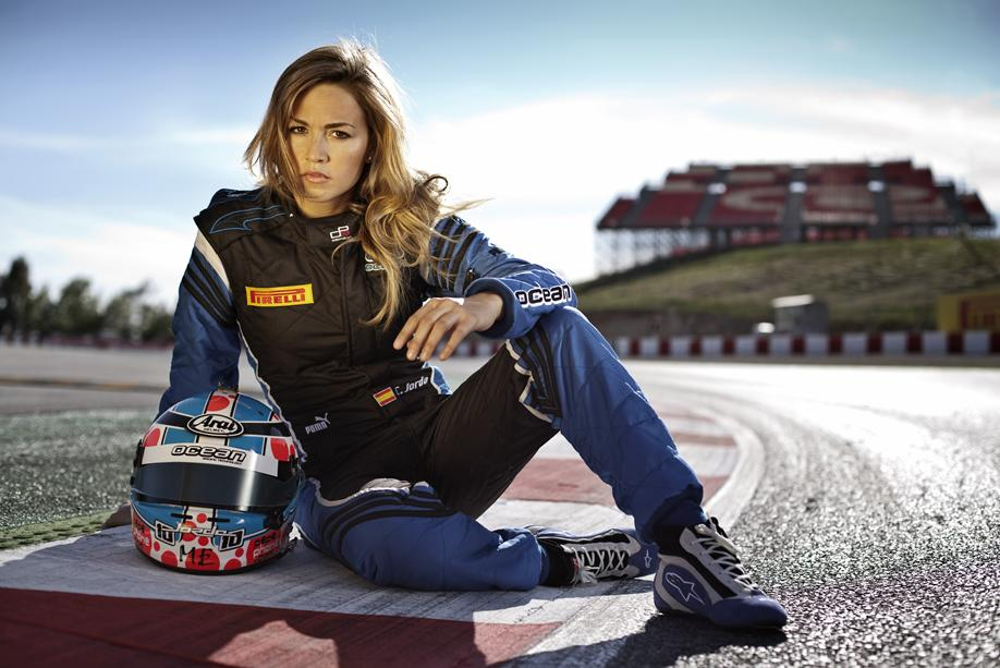 Carmen Jorda Racing Driver